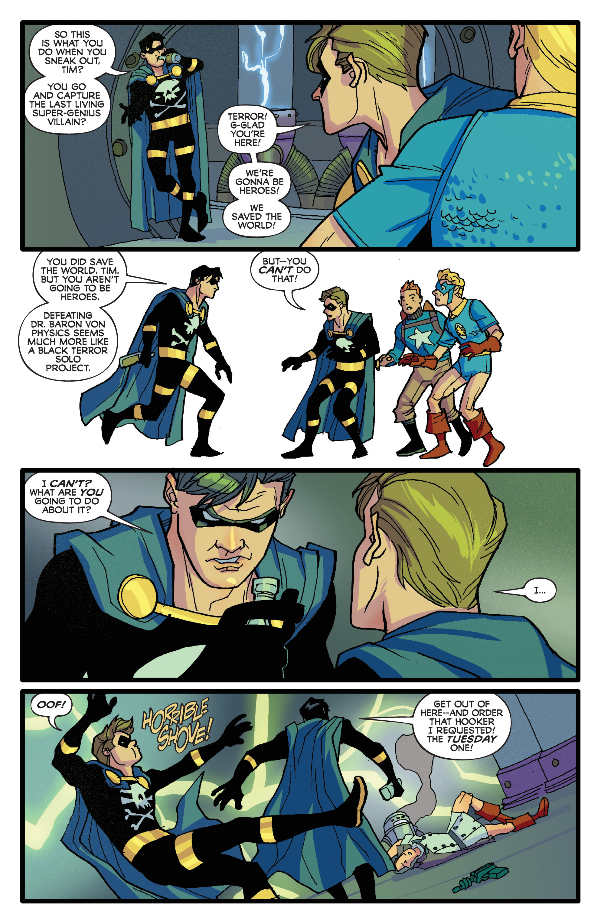 Read online Project Superpowers: Hero Killers comic -  Issue #1 - 20