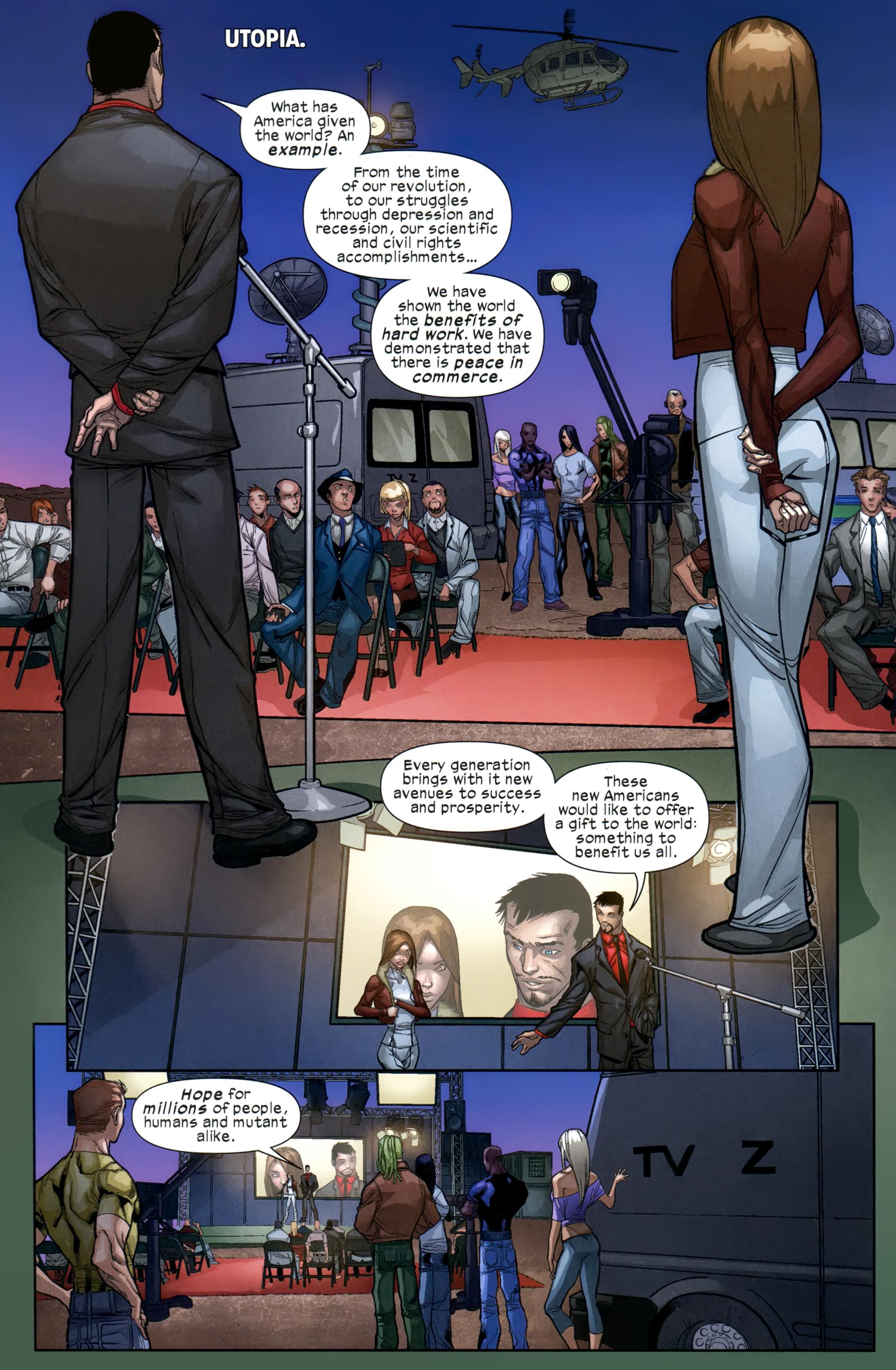Read online Ultimate Comics X-Men comic -  Issue #21 - 3