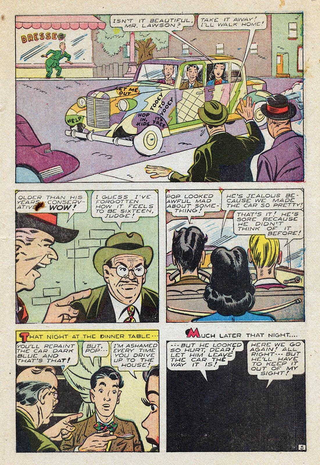 Georgie Comics (1945) issue 4 - Page 7