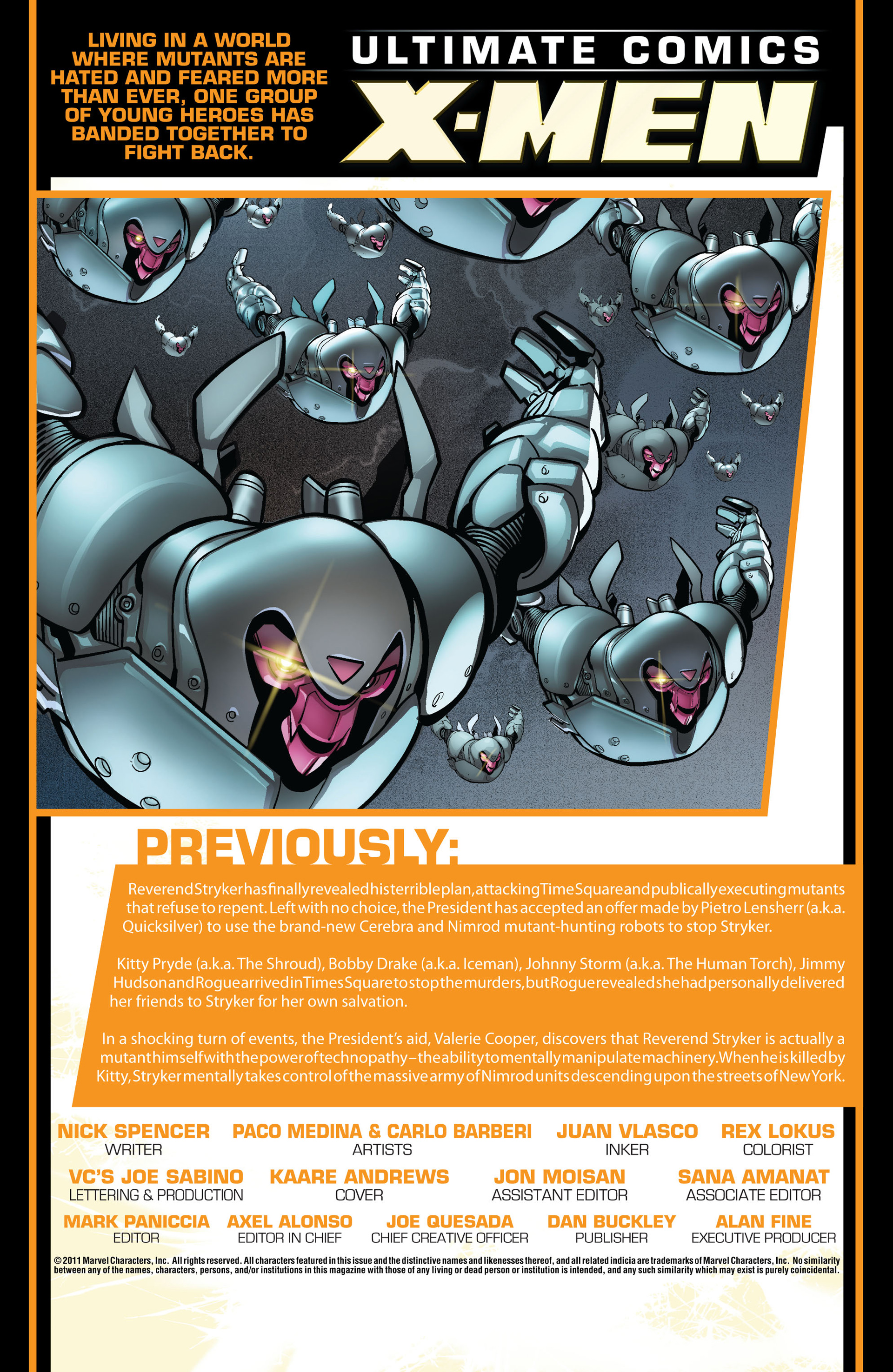 Read online Ultimate Comics X-Men comic -  Issue #6 - 2