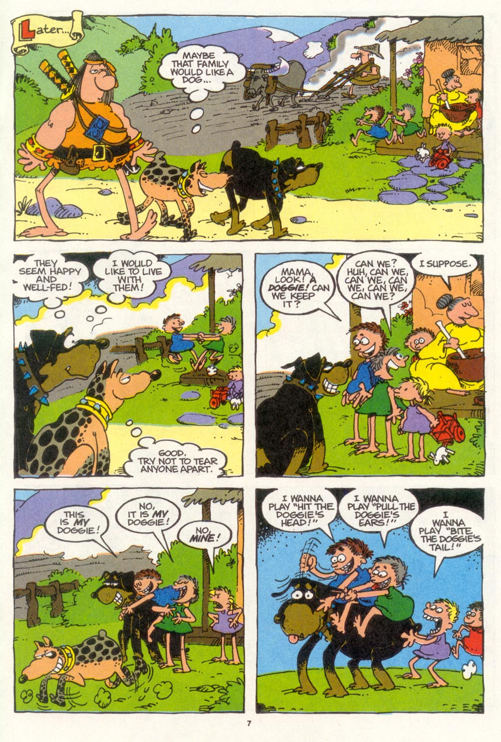 Read online Sergio Aragonés Groo the Wanderer comic -  Issue #104 - 9