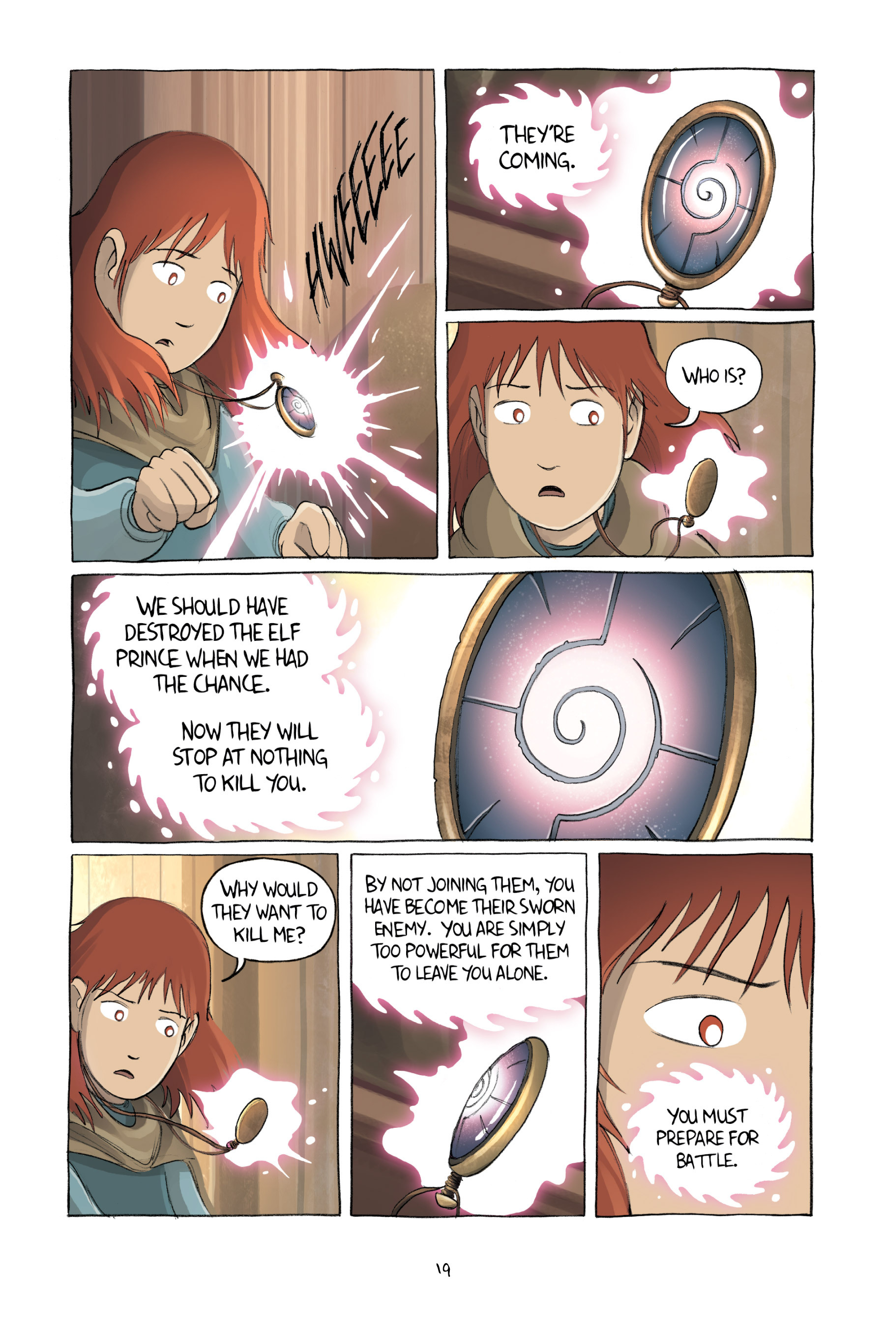 Read online Amulet comic -  Issue #2 - 22