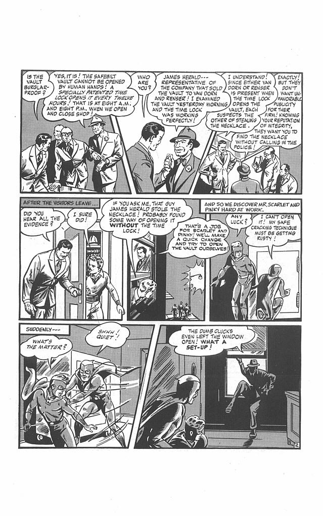 Read online Golden-Age Men of Mystery comic -  Issue #13 - 18