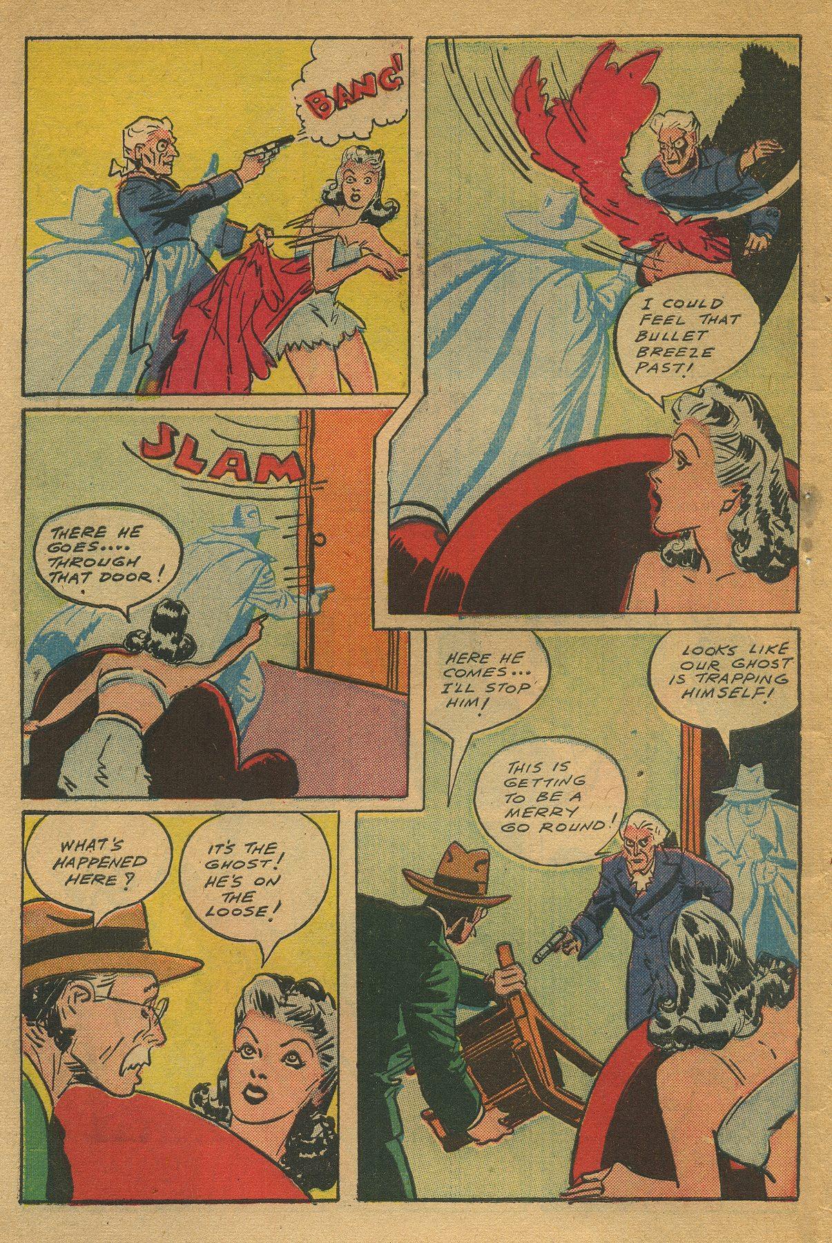 Read online Shadow Comics comic -  Issue #49 - 48