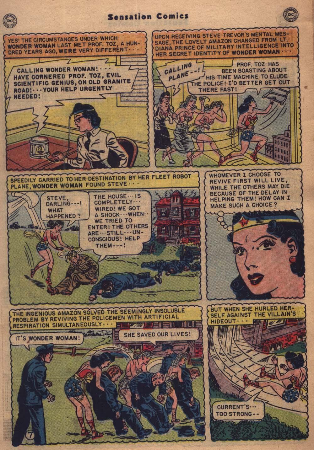 Read online Sensation (Mystery) Comics comic -  Issue #103 - 8