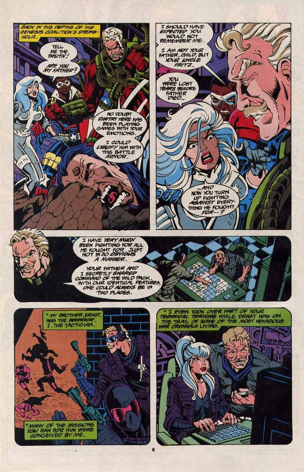 Read online Silver Sable and the Wild Pack comic -  Issue #25 - 6