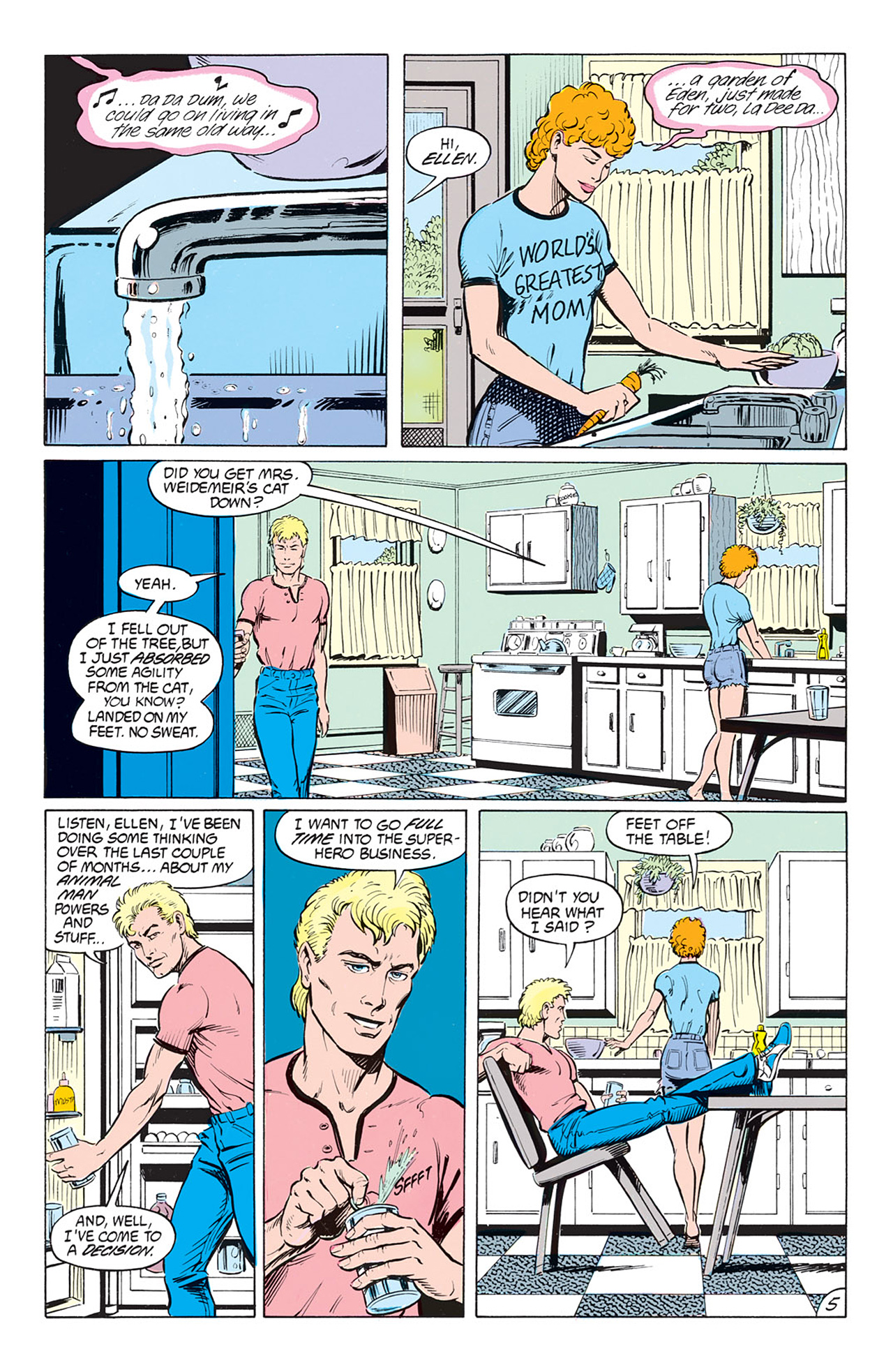 Read online Animal Man (1988) comic -  Issue #1 - 7