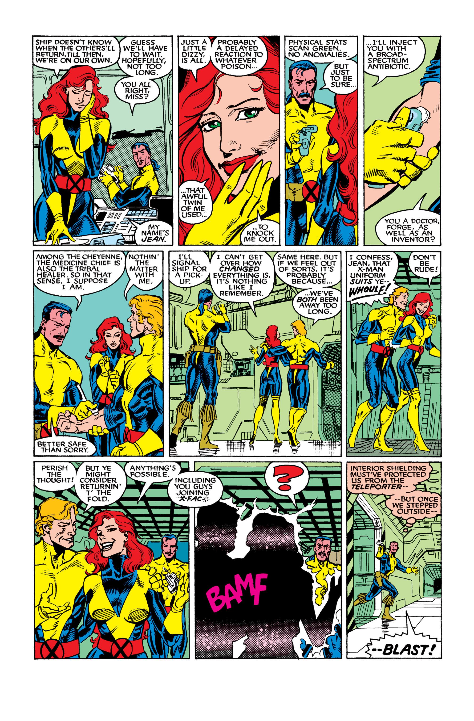 Read online Uncanny X-Men (1963) comic -  Issue #262 - 9