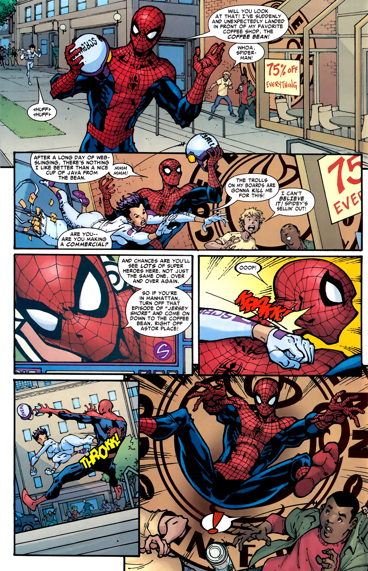 Read online Amazing Spider-Man Presents: American Son comic -  Issue #1 - 33