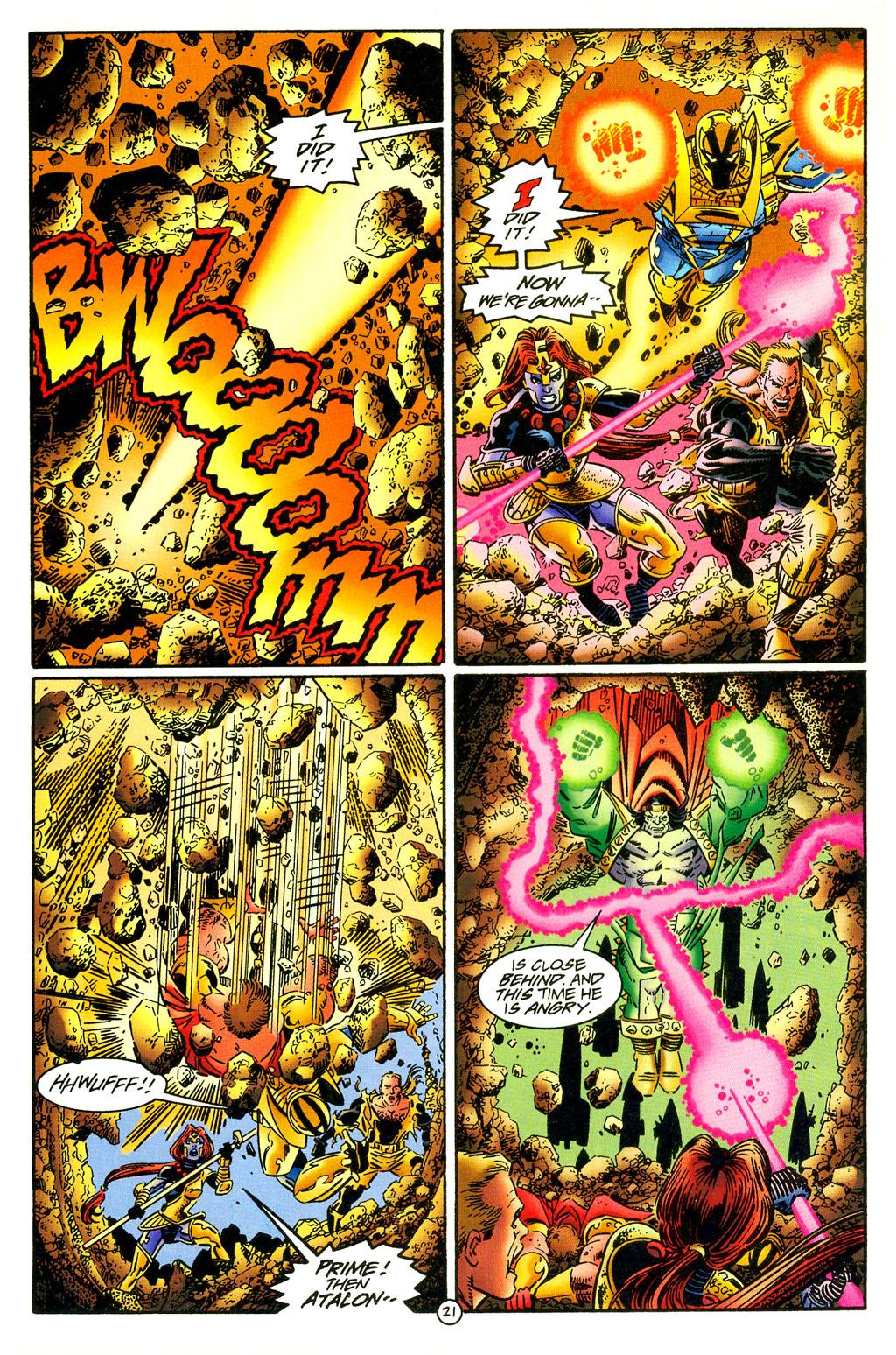 Read online UltraForce (1994) comic -  Issue #5 - 22