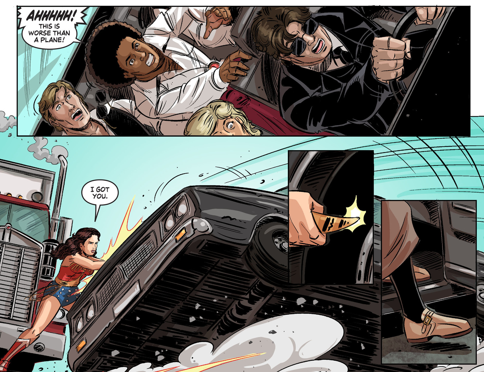 Read online Wonder Woman '77 [I] comic -  Issue #24 - 12