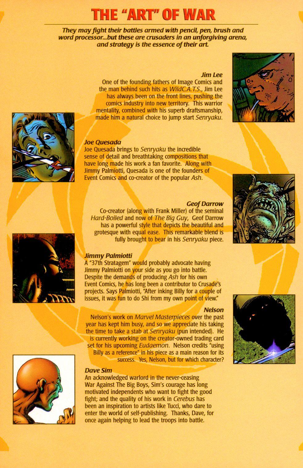 Read online Shi: Senryaku comic -  Issue #1 - 18