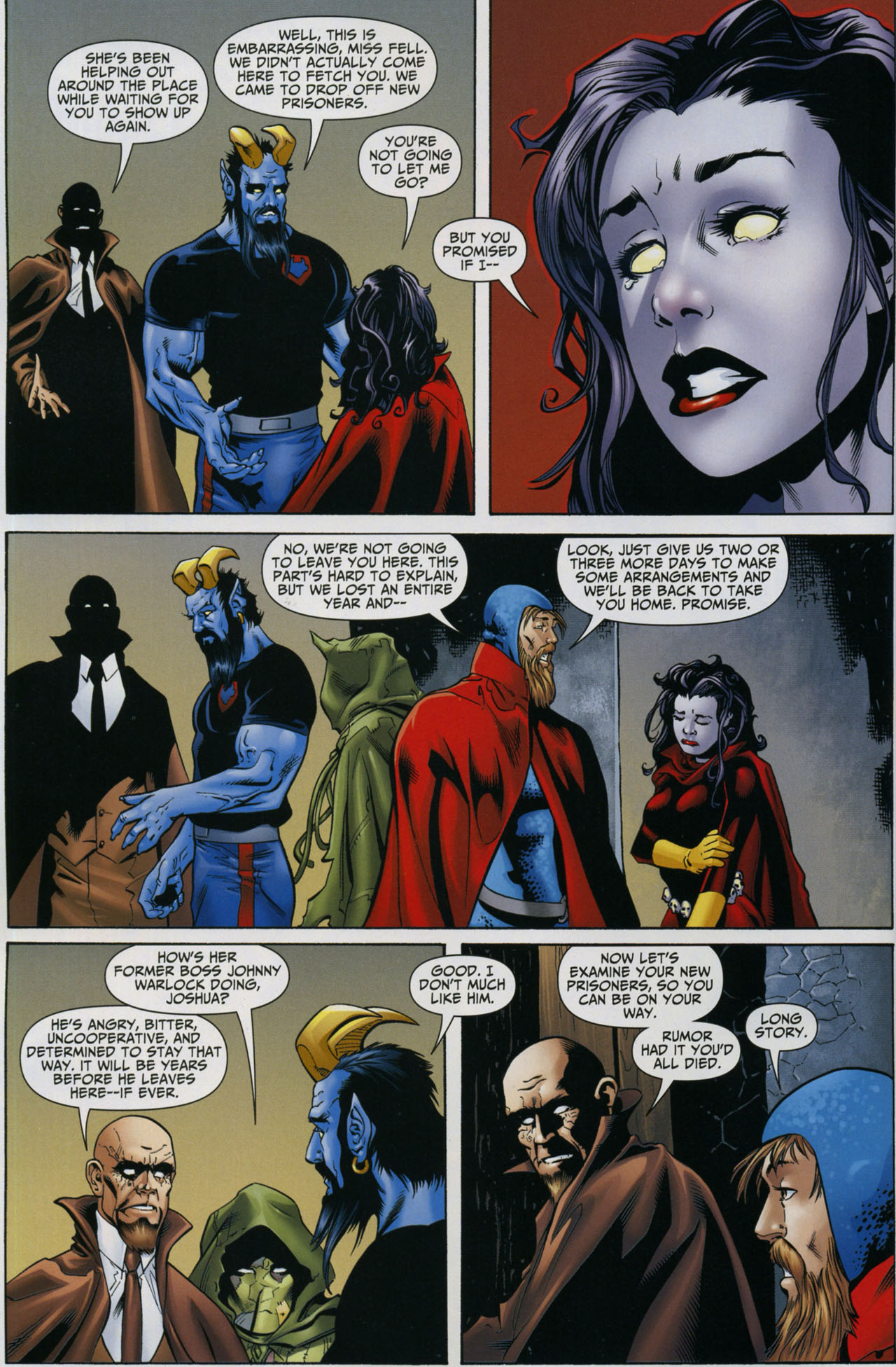 Read online Shadowpact comic -  Issue #5 - 6