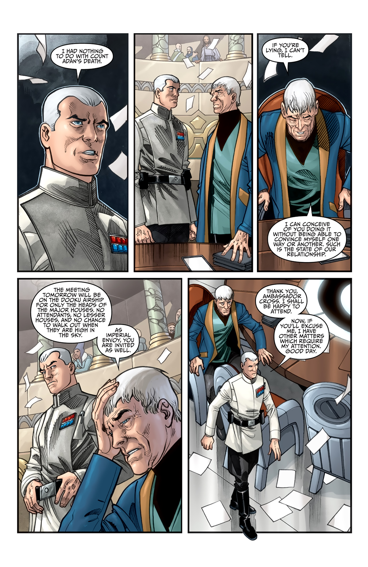 Read online Star Wars: Agent Of The Empire - Hard Targets comic -  Issue #2 - 6