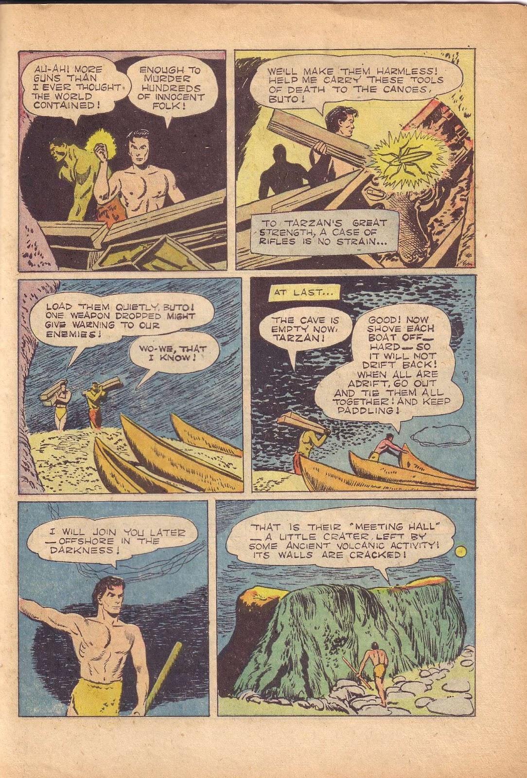 Tarzan (1948) issue 50 - Page 39