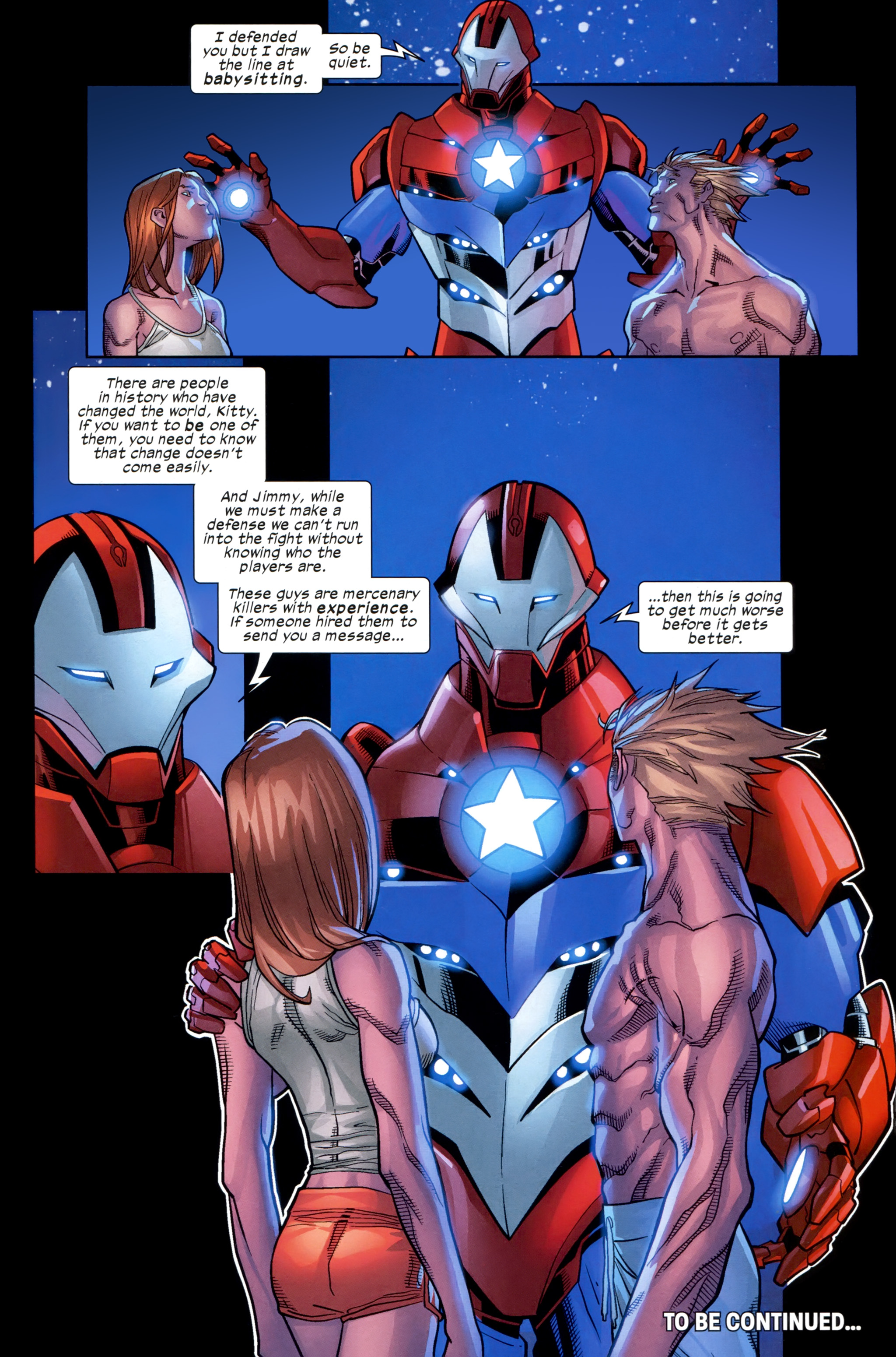 Read online Ultimate Comics X-Men comic -  Issue #21 - 21