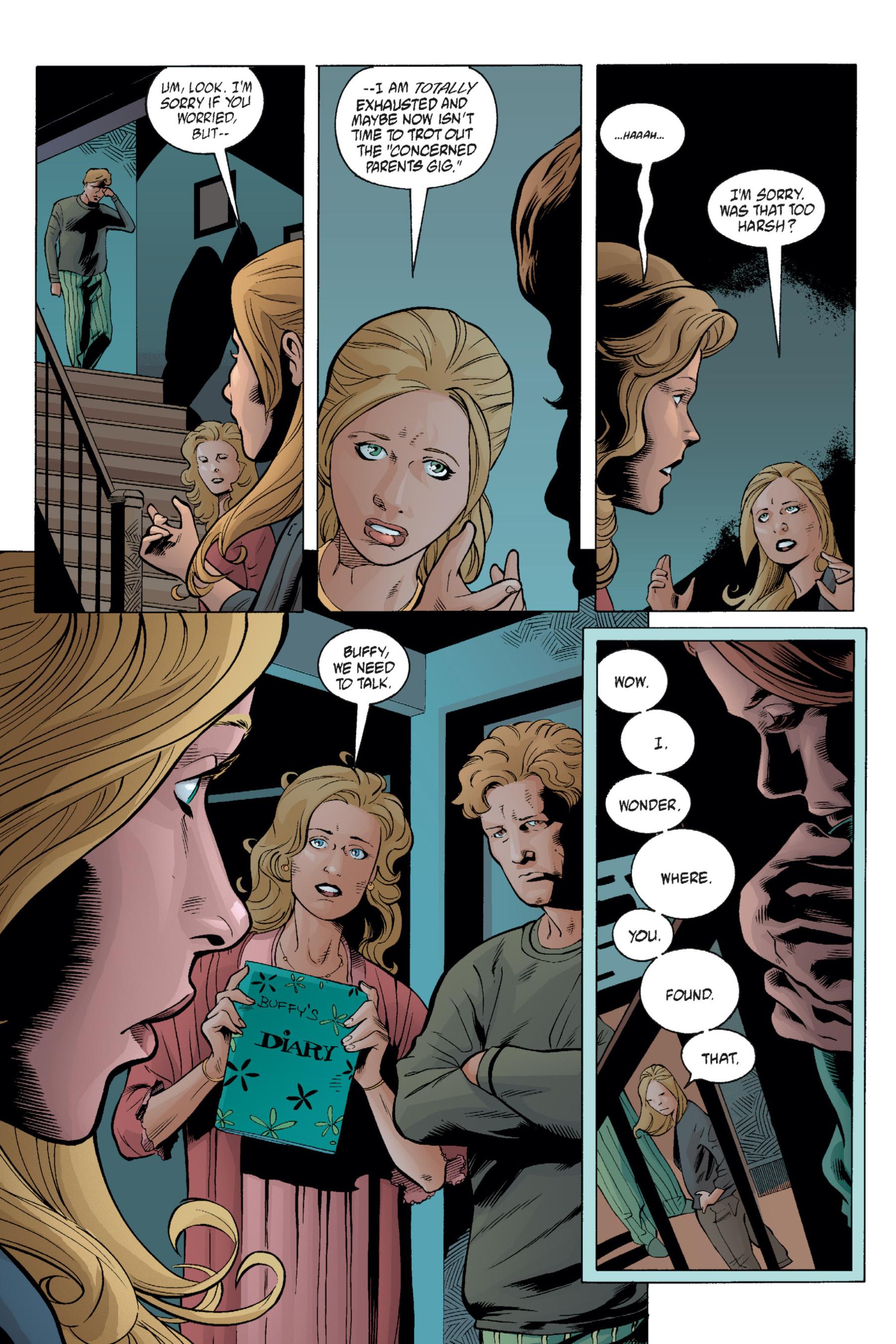 Read online Buffy the Vampire Slayer: Omnibus comic -  Issue # TPB 1 - 221