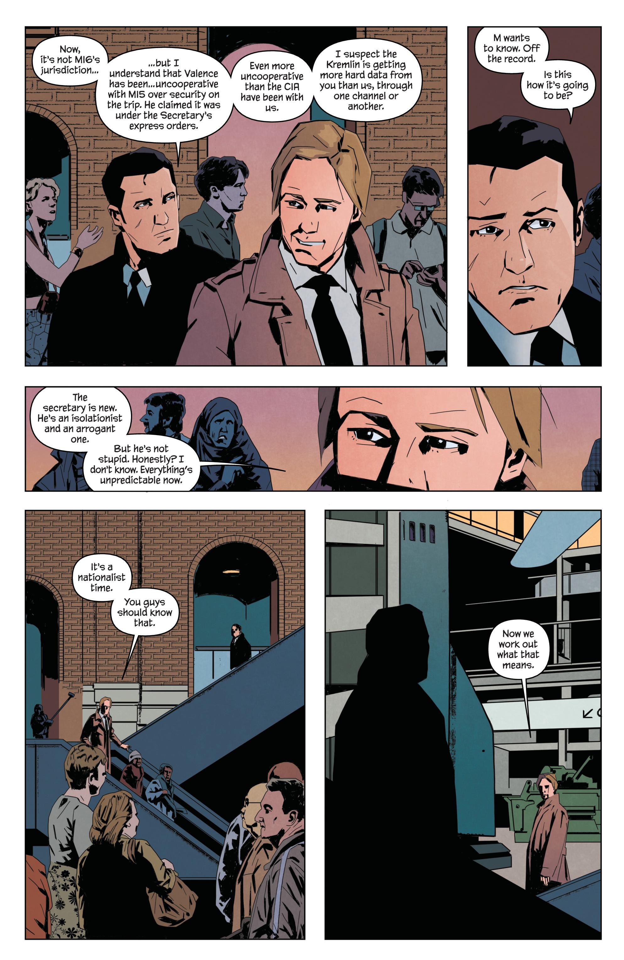Read online James Bond: Service comic -  Issue # Full - 7