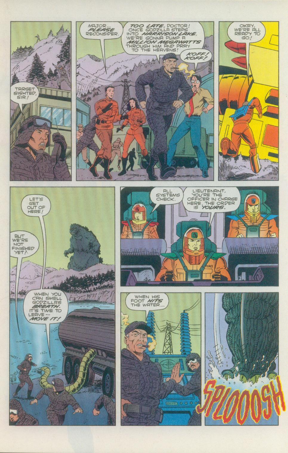 Godzilla (1995) Issue #2 #3 - English 18