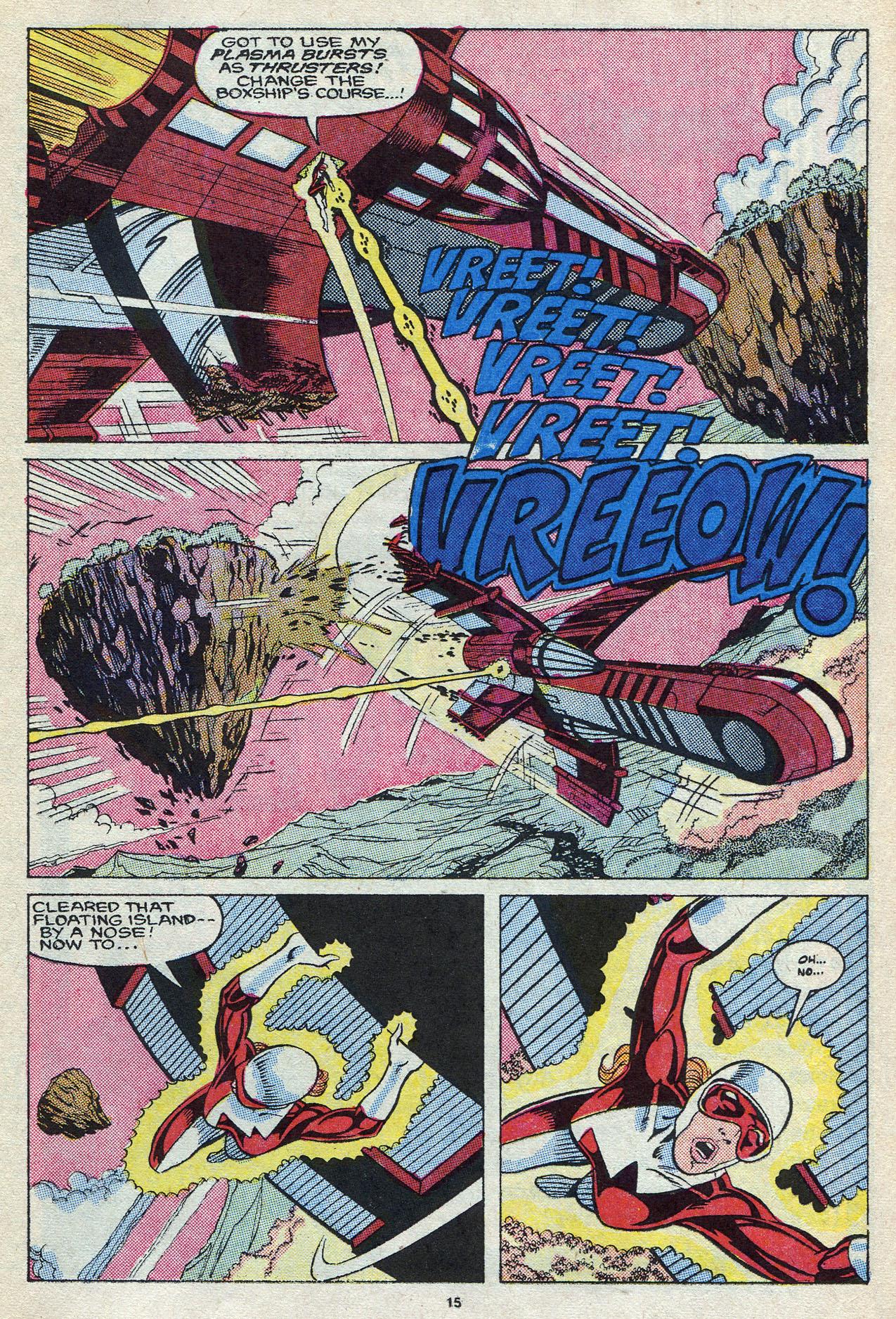 Read online Alpha Flight (1983) comic -  Issue #58 - 17
