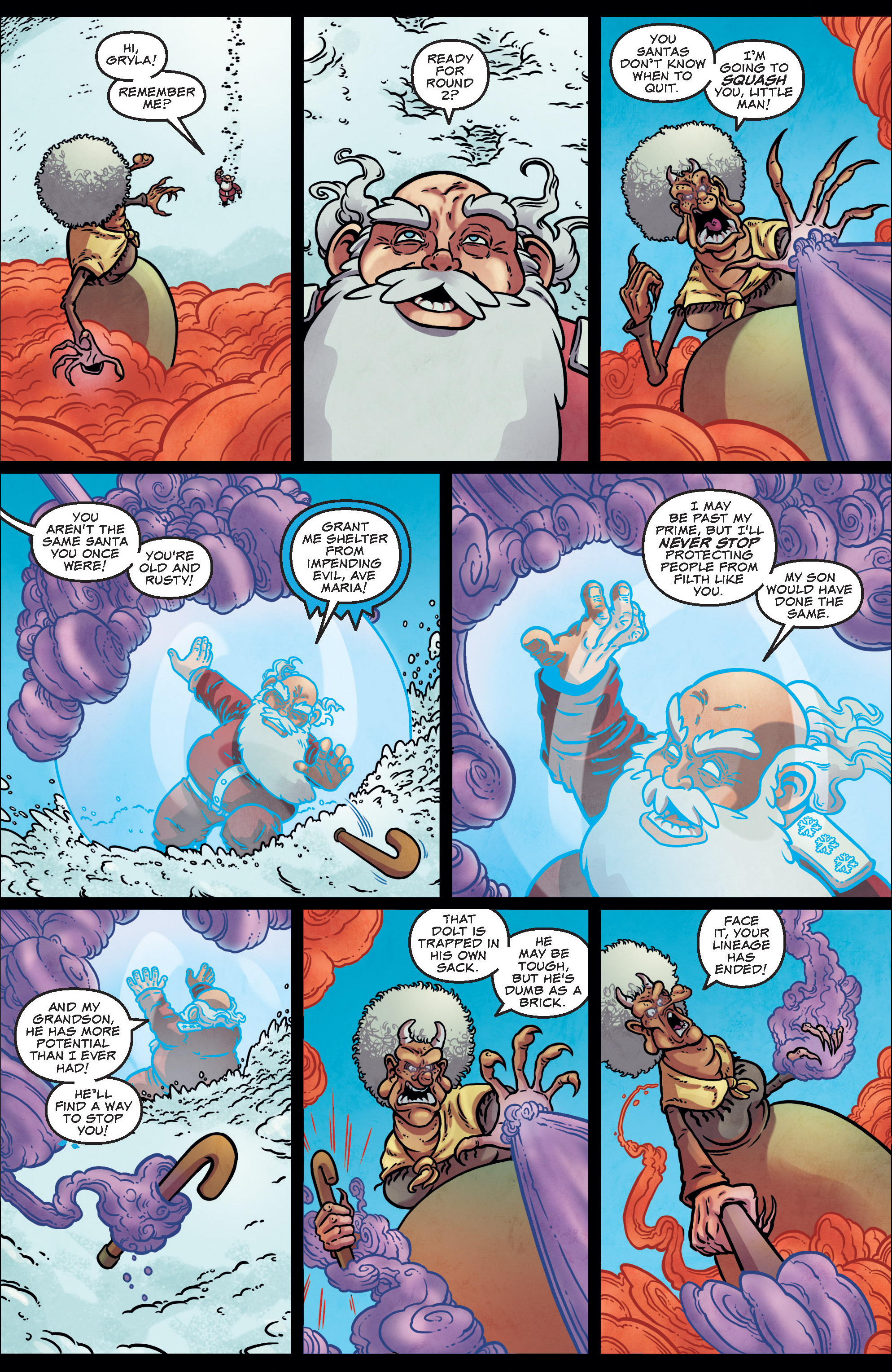 Read online Sleigher comic -  Issue #3 - 19