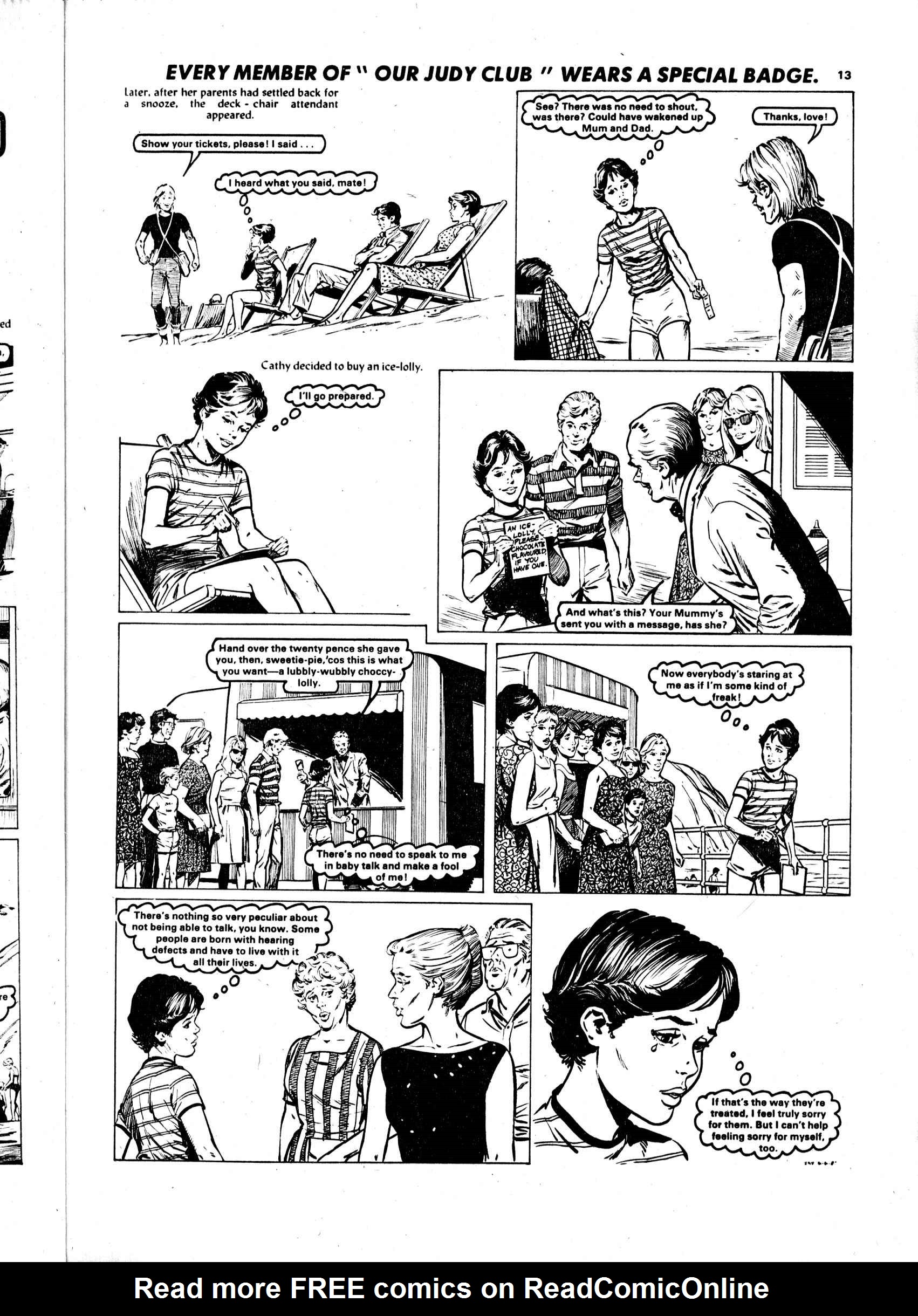 Read online Judy comic -  Issue #1108 - 13