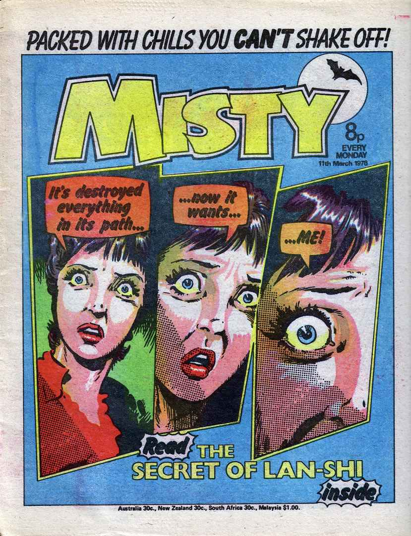 Misty 6 Page 1