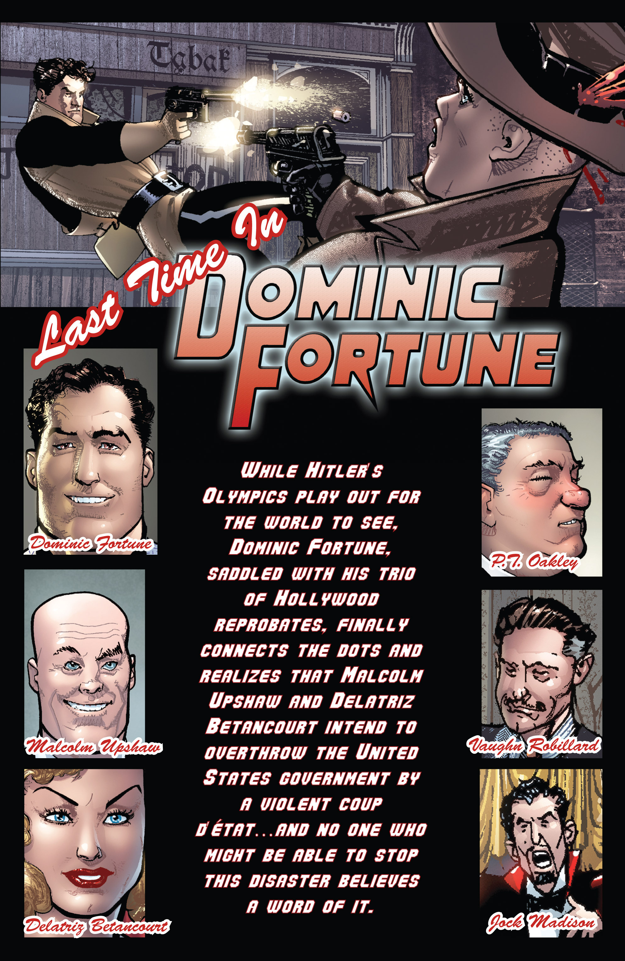 Read online Dominic Fortune comic -  Issue #4 - 2