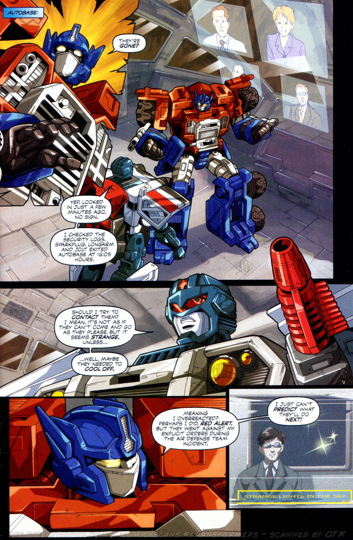 Read online Transformers Armada comic -  Issue #8 - 16