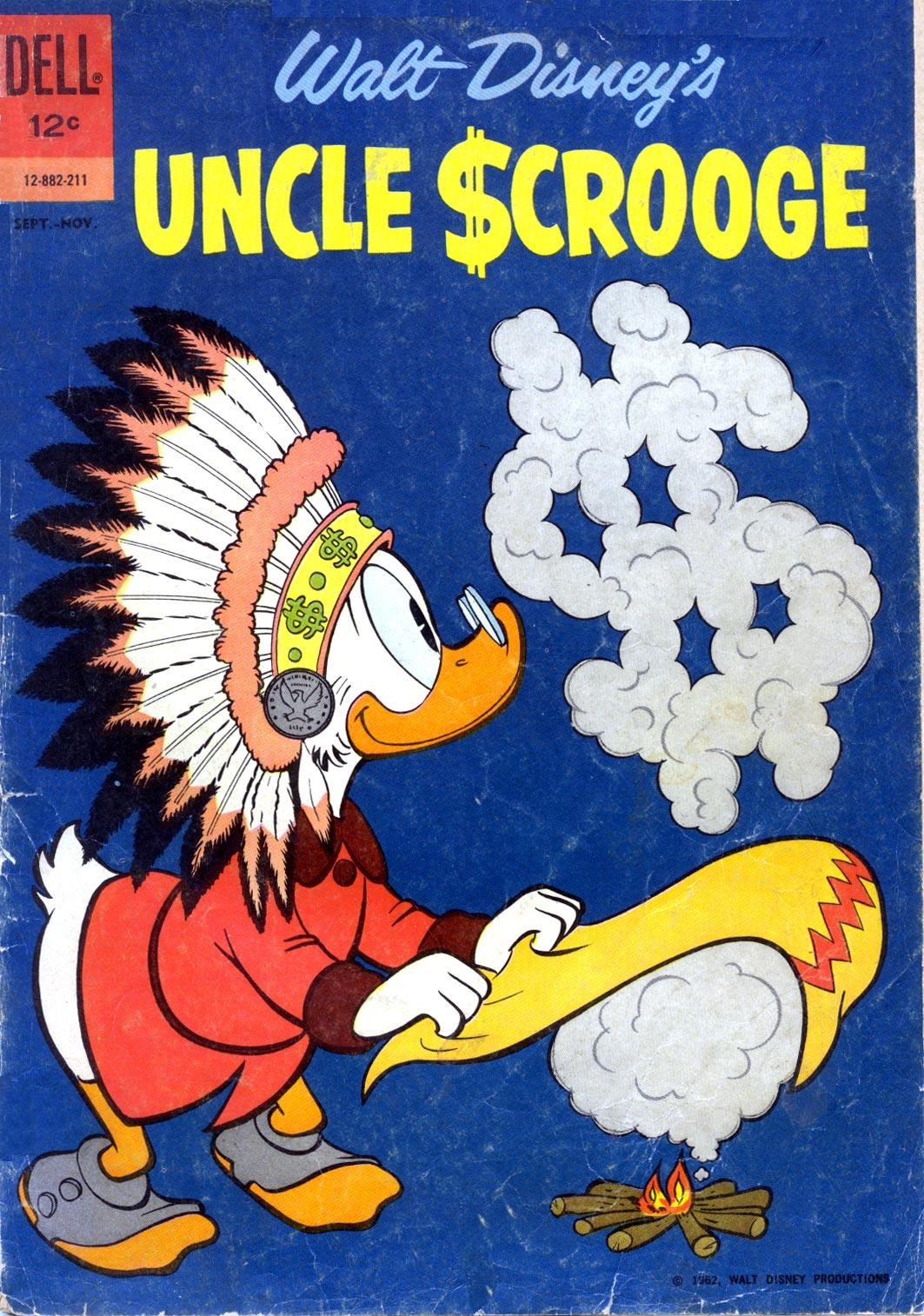 Read online Uncle Scrooge (1953) comic -  Issue #39 - 1