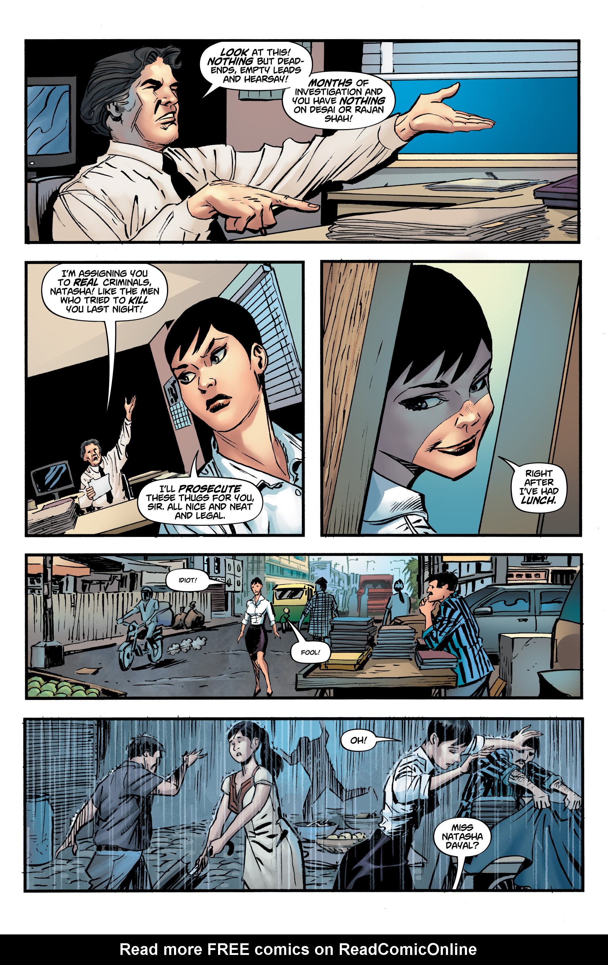 Read online Shadow Tiger comic -  Issue #3 - 8