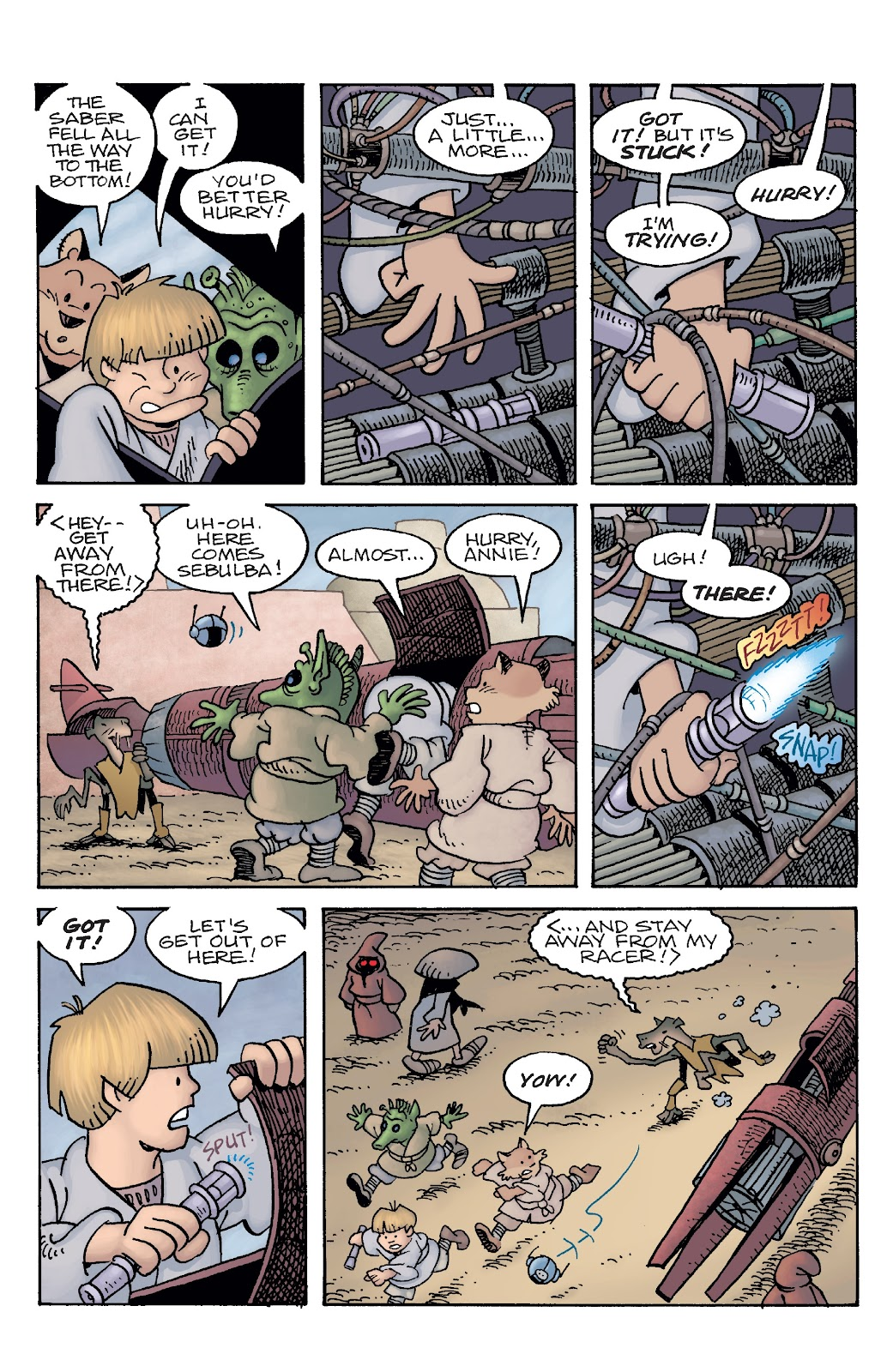 Read online Star Wars Legends: Rise of the Sith - Epic Collection comic -  Issue # TPB 2 (Part 5) - 63