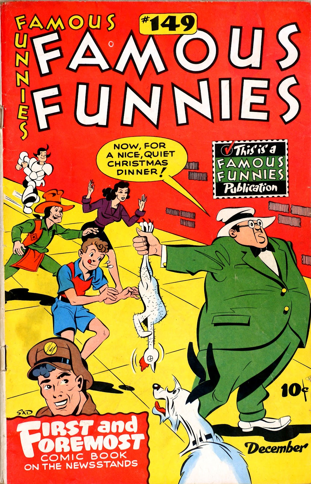 Read online Famous Funnies comic -  Issue #149 - 1