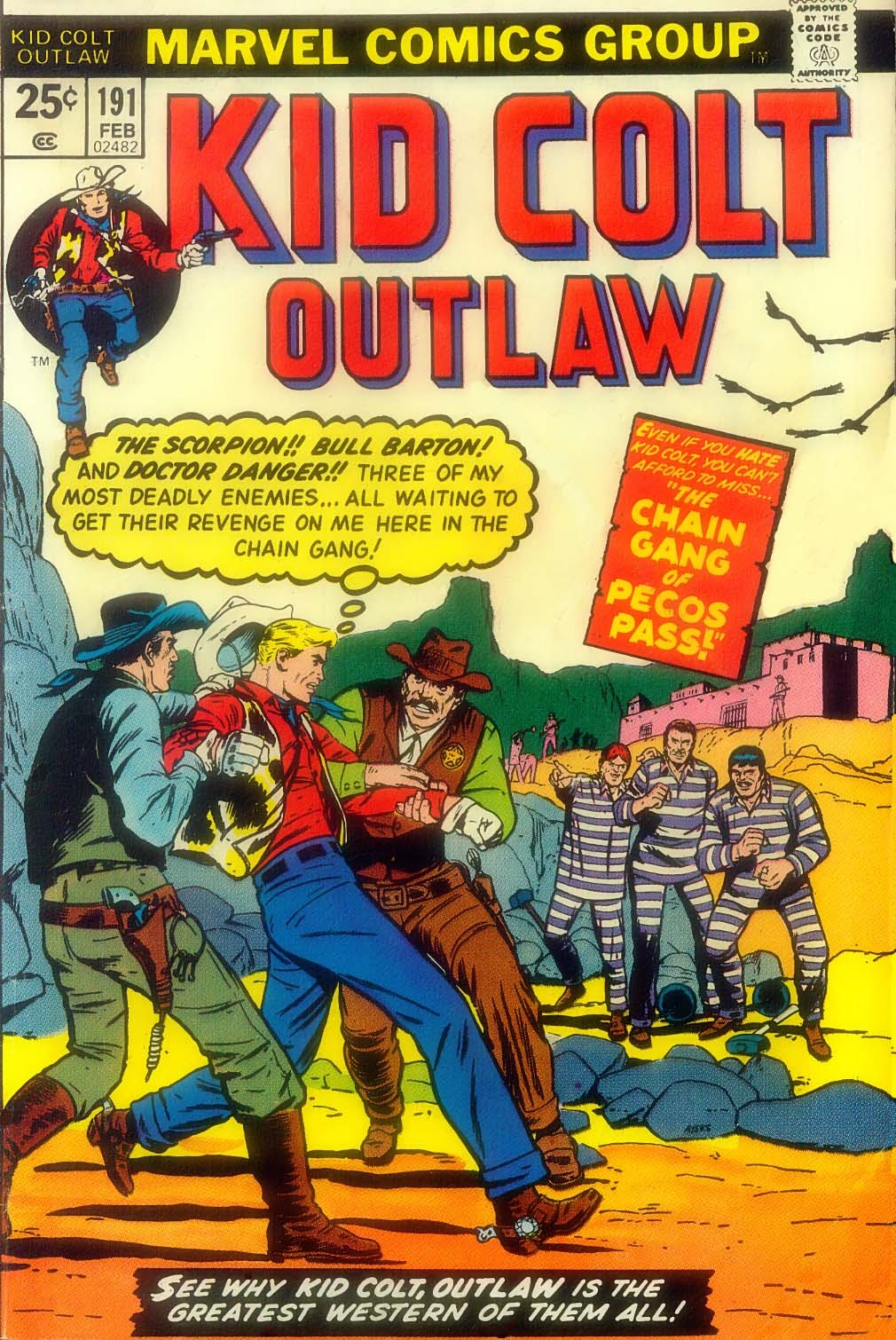 Kid Colt Outlaw issue 191 - Page 1