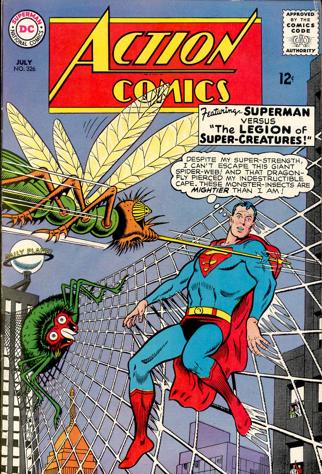 Read online Action Comics (1938) comic -  Issue #326 - 1