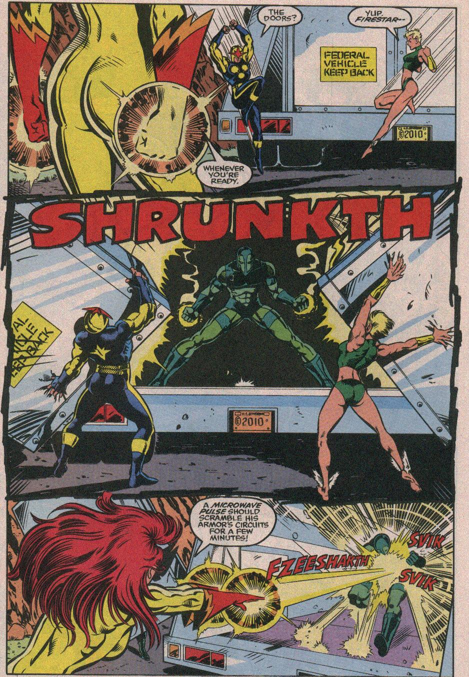 The New Warriors Issue #26 #30 - English 14