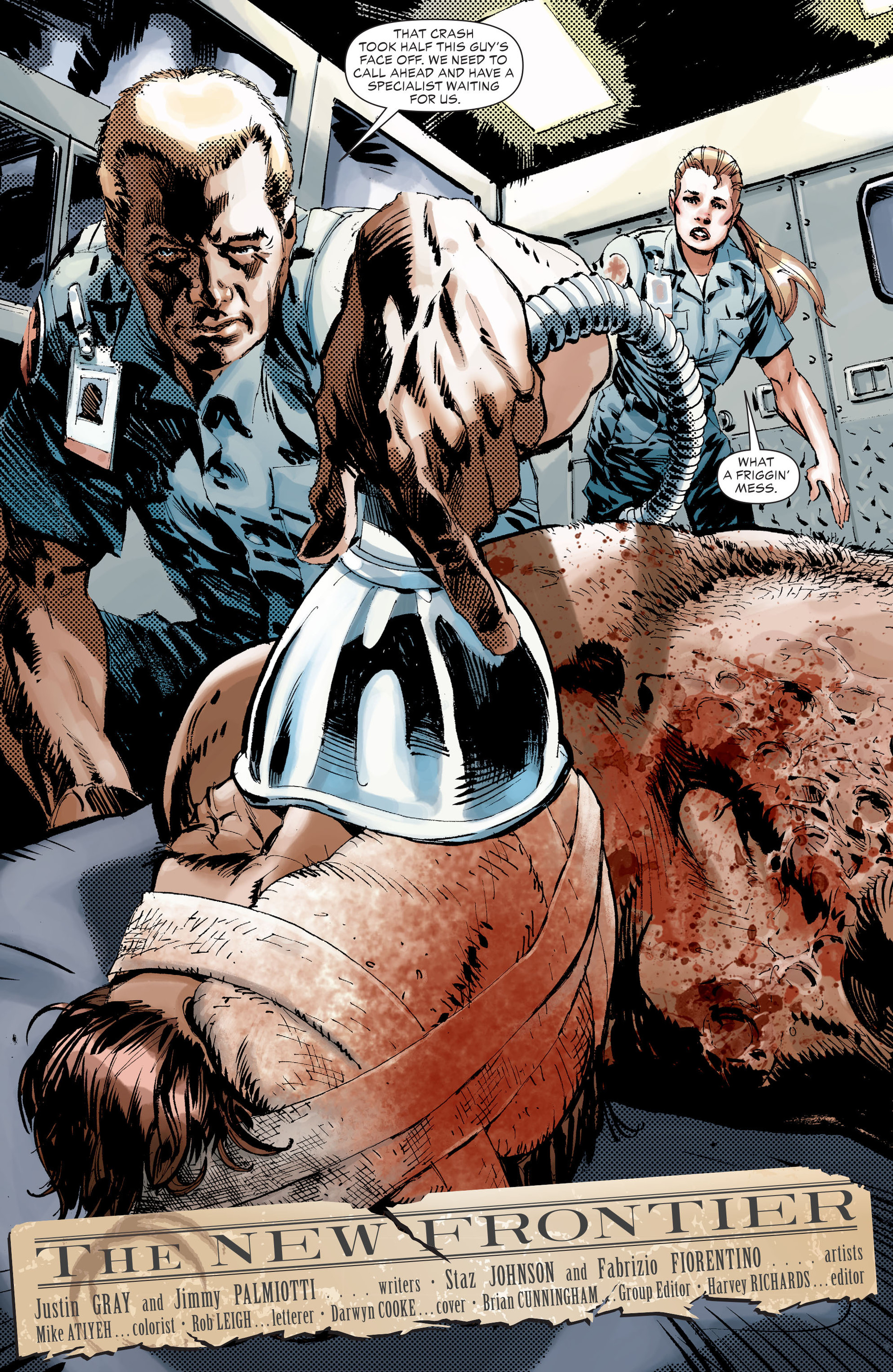 Read online All-Star Western (2011) comic -  Issue #28 - 2