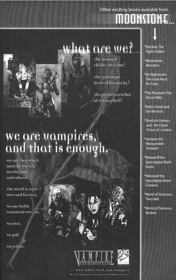 Read online Vampire the Masquerade comic -  Issue # Nosferatu - 51