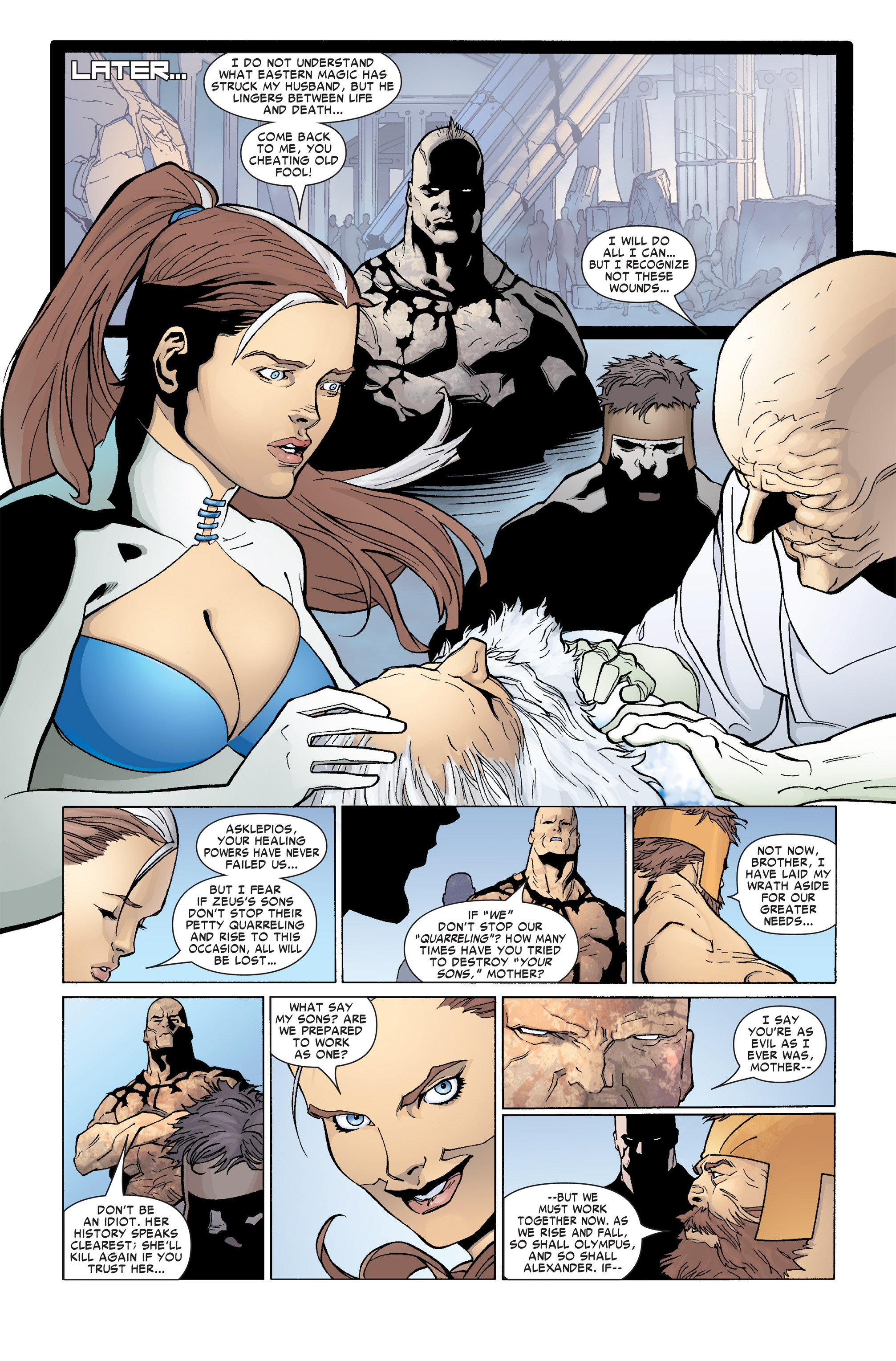 Read online Ares comic -  Issue #4 - 11