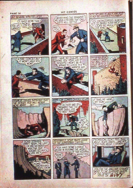 Read online Hit Comics comic -  Issue #4 - 16