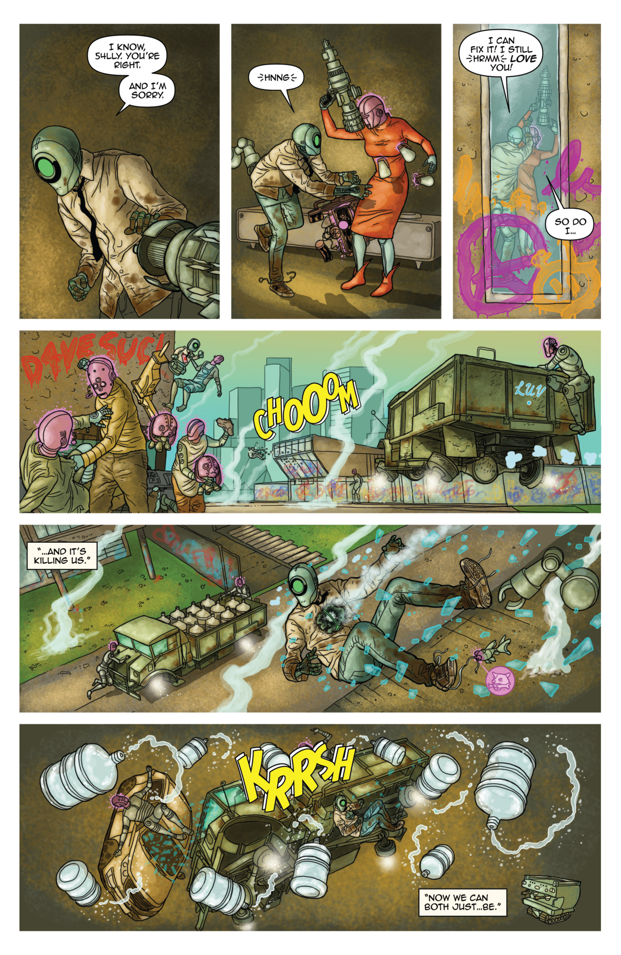 Read online D4VEocracy comic -  Issue #4 - 5