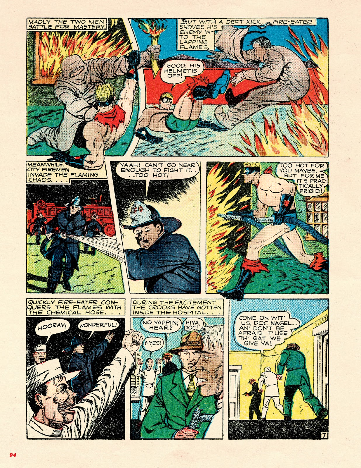 Read online Super Weird Heroes comic -  Issue # TPB 2 (Part 1) - 94