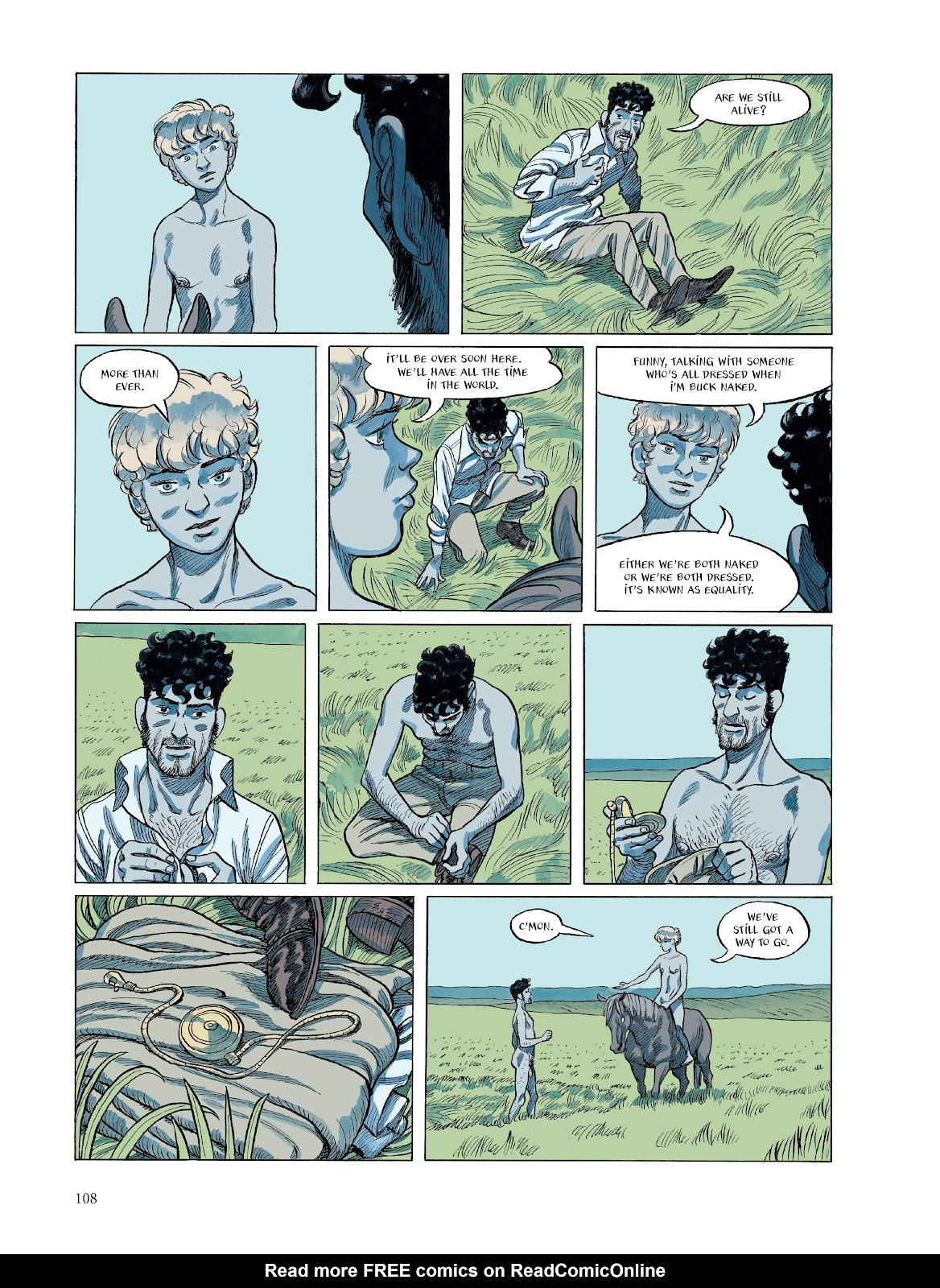 Read online The Smell of Starving Boys comic -  Issue # TPB - 108