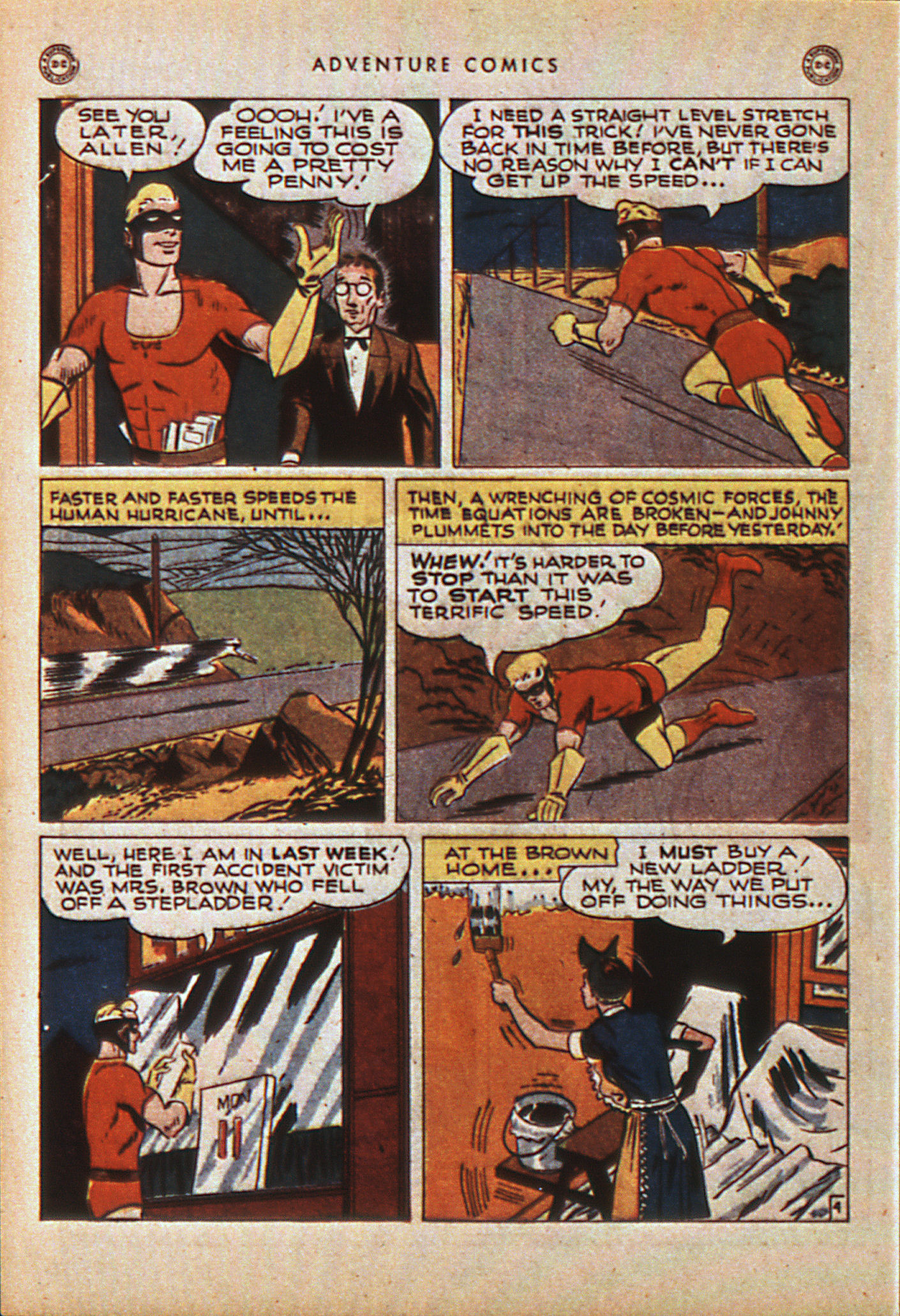Read online Adventure Comics (1938) comic -  Issue #114 - 43