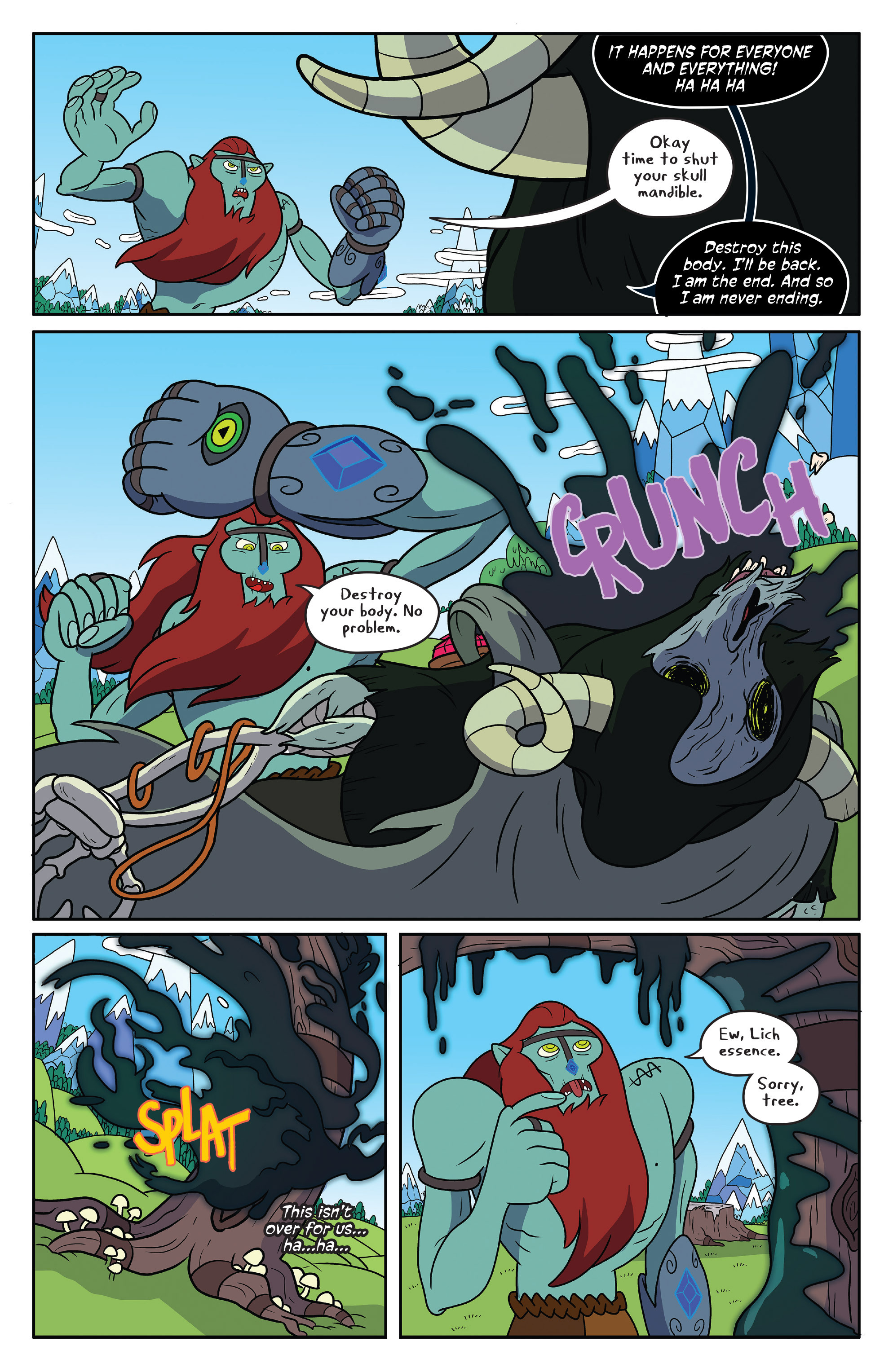 Read online Adventure Time comic -  Issue #50 - 5