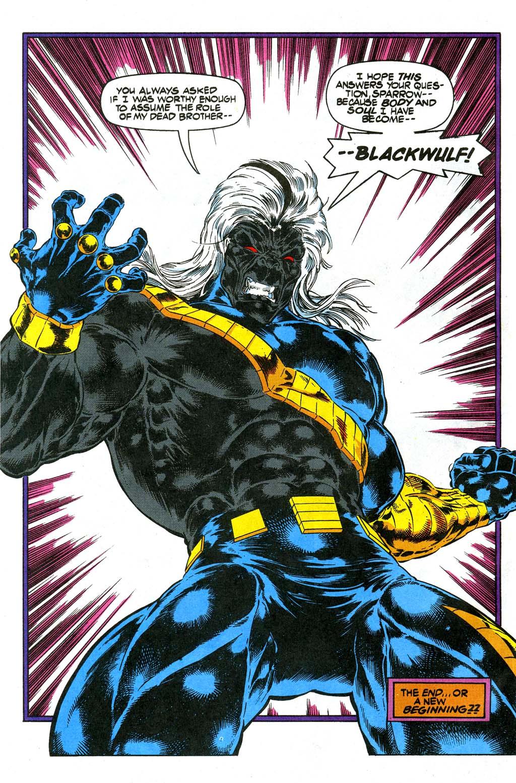 Read online Blackwulf comic -  Issue #10 - 22