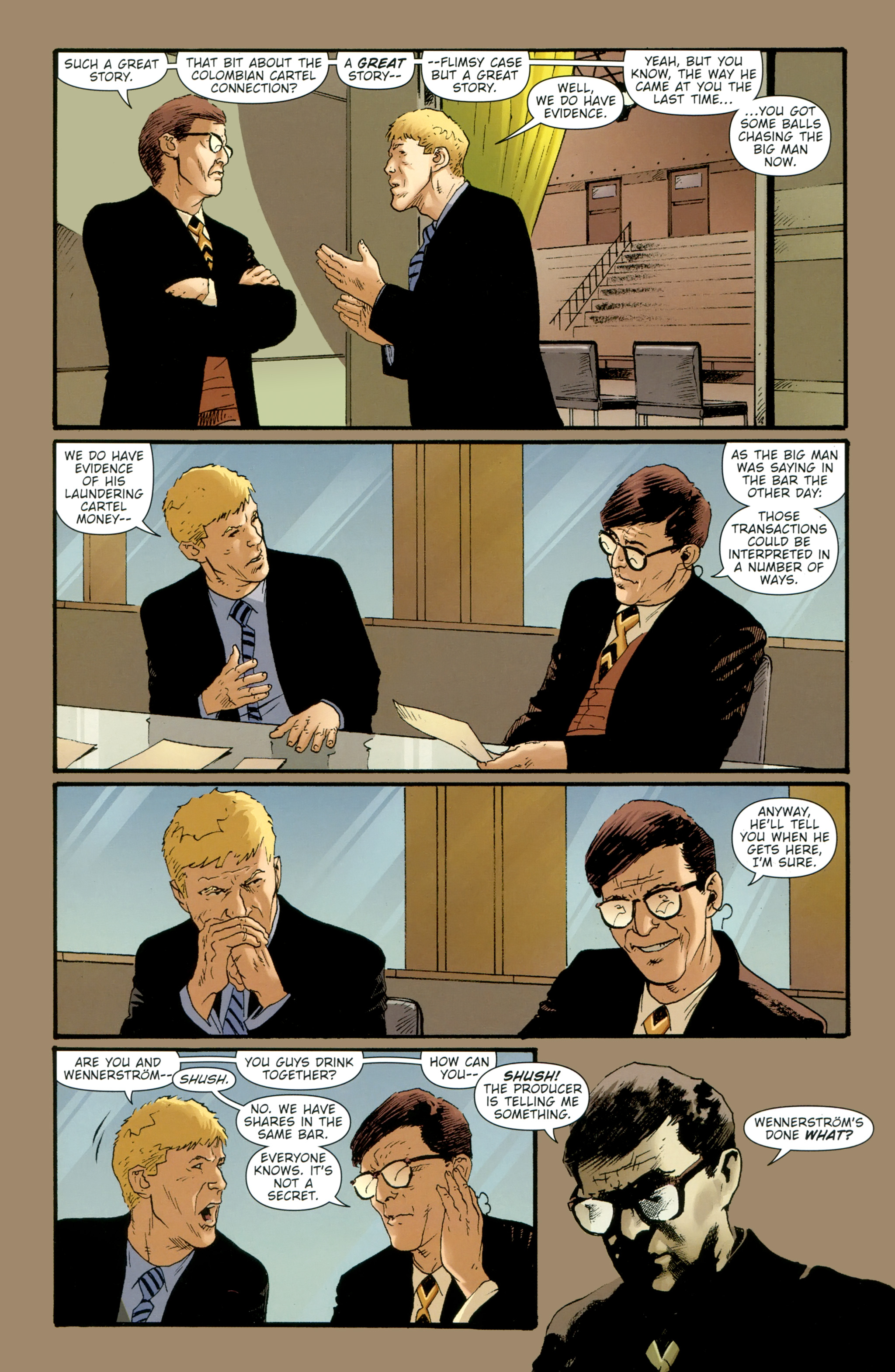 Read online The Girl With the Dragon Tattoo comic -  Issue # TPB 2 - 149