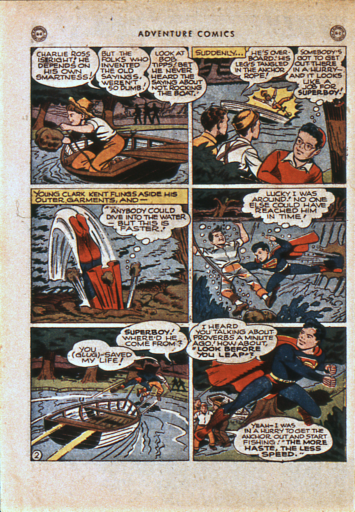 Read online Adventure Comics (1938) comic -  Issue #108 - 5