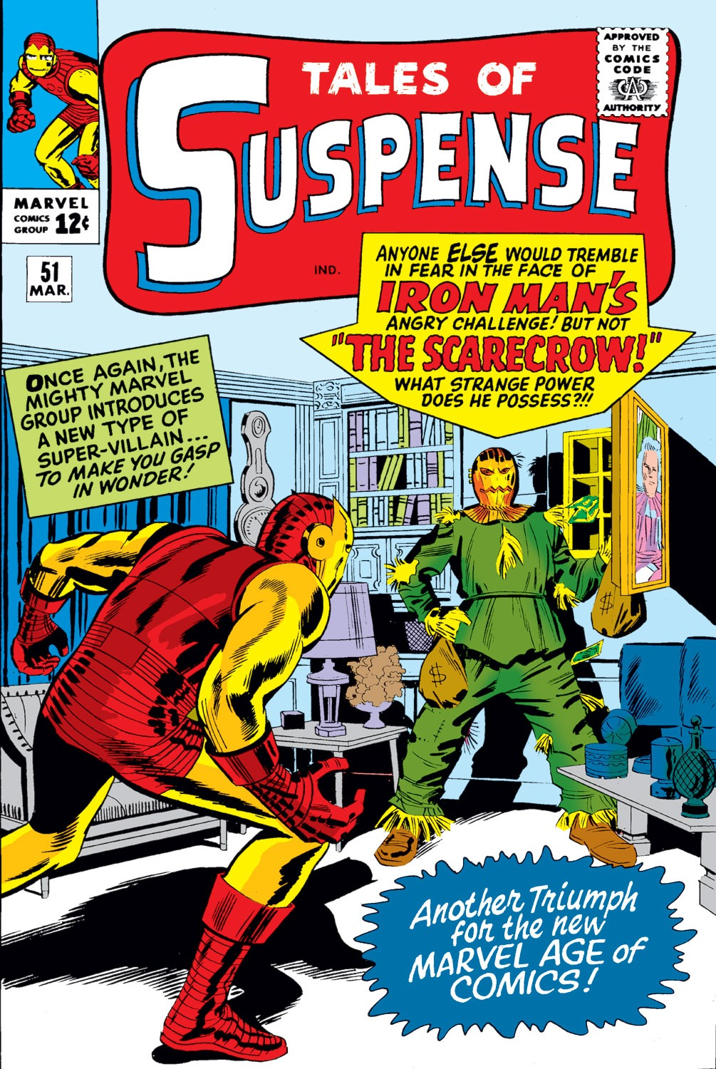 Tales of Suspense (1959) issue 51 - Page 1