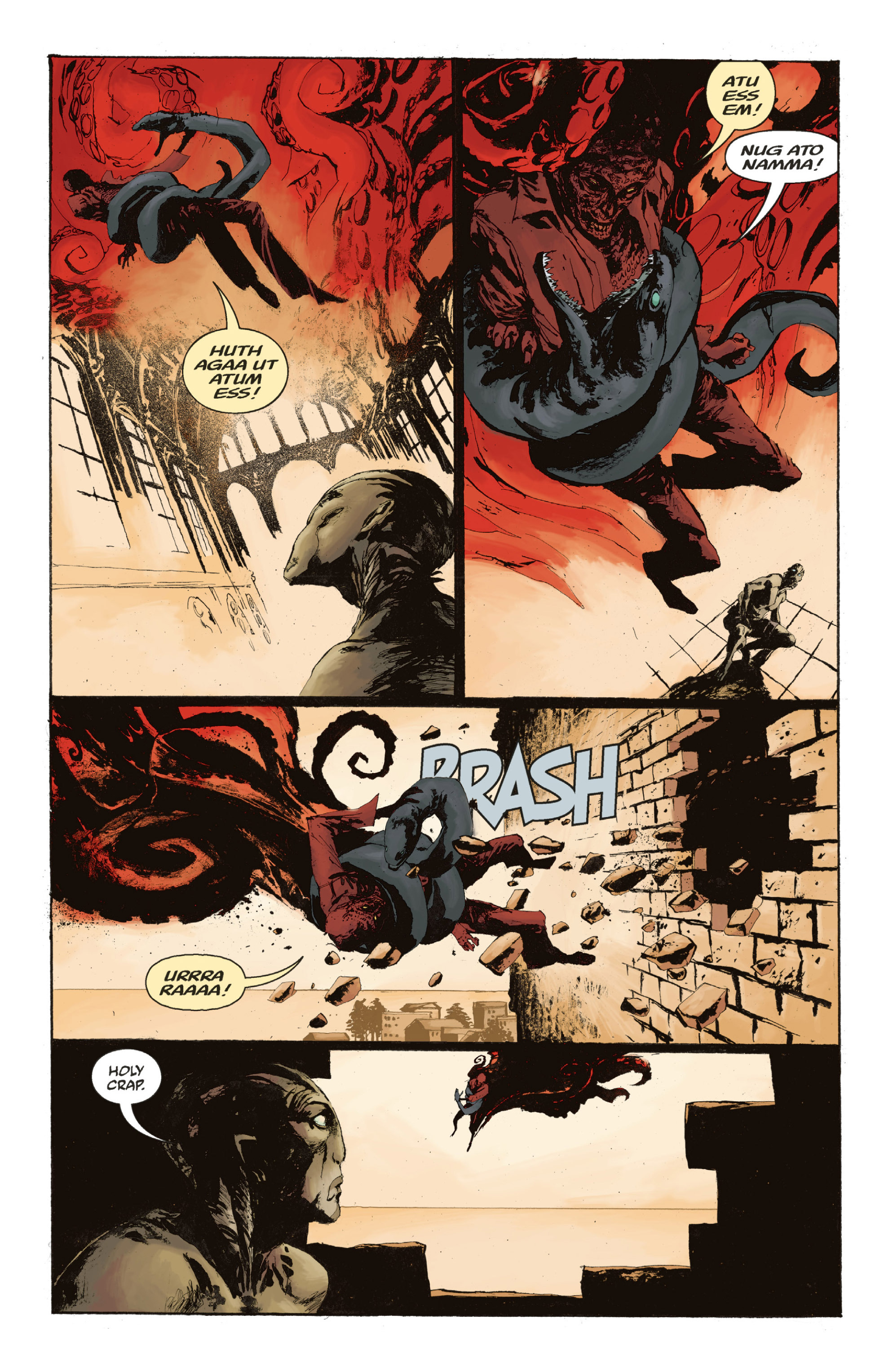 Read online Abe Sapien: The Drowning comic -  Issue #Abe Sapien: The Drowning _TPB - 129